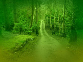 Green Path by die-lobsters-die
