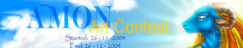 Amon Art contest by TheTempleOfNetjer