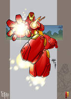 Iron Man Collab by aestheticartist