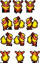 Flareon Custom Sprites by FlareAeon