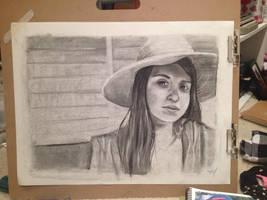 Self Portrait by LodiDotesArts