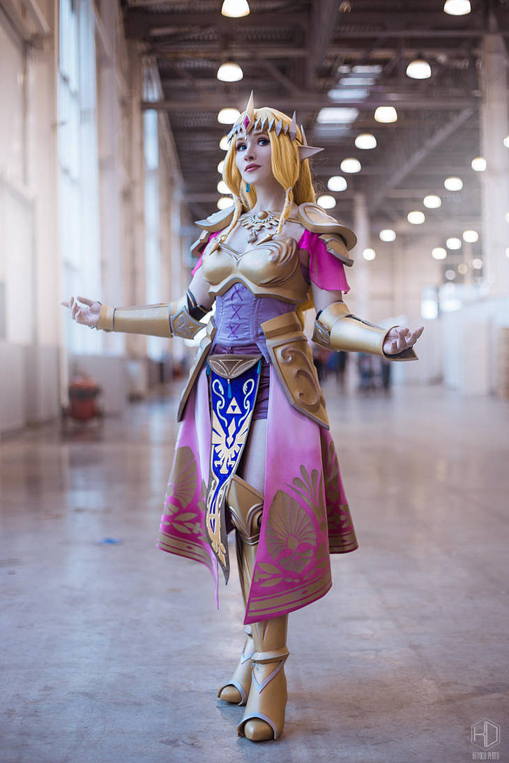 Princess Zelda by astelvert