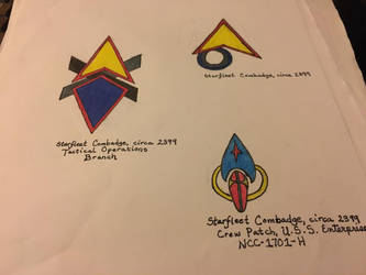 Star Trek Assignment Patches 7 by monkeysuncle30