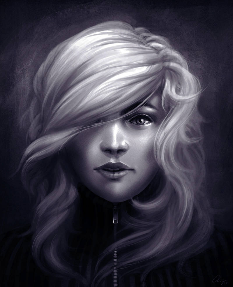 Portrait-practice by CrackBag