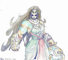 Stronggirl #1 : Illaoi by Nelbsia