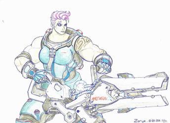 Stronggirl #2 : Zarya by Nelbsia