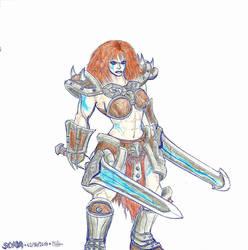 Stronggirl #6 : Sonya by Nelbsia