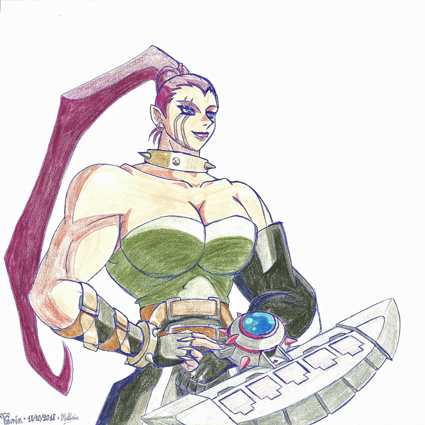 Stronggirl #8 : Tania by Nelbsia