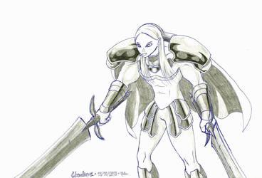 Stronggirl #9 : Undine by Nelbsia