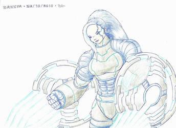 Stronggirl #10 : Naxxya by Nelbsia