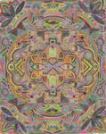 Botanical inspired zentangle - Juniper addition by theostranenie