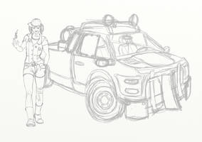 Driver (sketch) by SteveNoble197