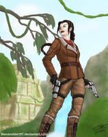 Lara Croft (v3) by SteveNoble197