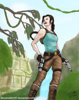 Lara Croft (v2) by SteveNoble197