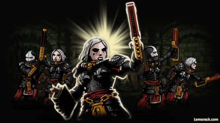 Sister of Battle - Darkest Dungeon mod by SteveNoble197