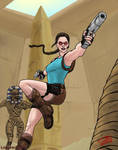 Lara Croft in Egypt by SteveNoble197