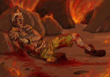 Junkrat Goes Boom by Rosyan