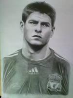 Stevie Gerrard Portrait by Craig-Stannard