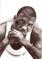 The Game Biro Portrait by Craig-Stannard