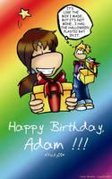 Happy Birthday Pady08 by Raygirl13