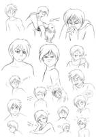 Ryan's expressions by Raygirl13