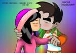 Raymundo and Kimiko Kiss2 by Raygirl13