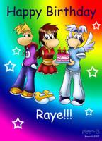 Happy Birthday, Raye by Raygirl13