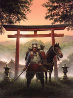 Land of the Samurai by ChrisQuilliams