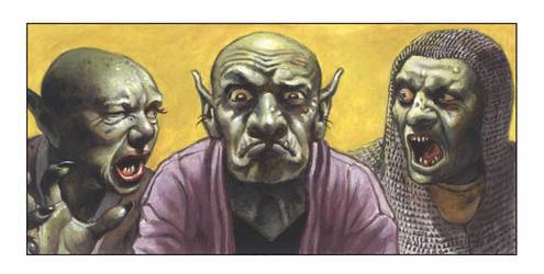 Orcs by ChrisQuilliams