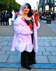 Cruella de Vil from 101 Dalmatians by ZeroKing2015