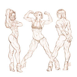 Fit girls. by Tomekkaz