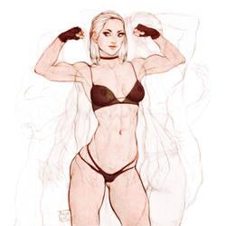 Fit lady. by Tomekkaz