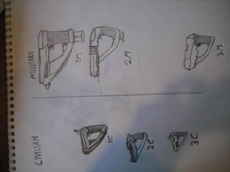 Gun Designs by SkirmisherLex23