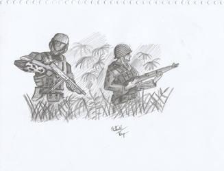 ODST+WW2 - Awesomeness by SkirmisherLex23
