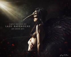 Lady Ravendene by SimplyDefinedArt
