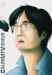 VIDEO GAME HIGH SCHOOL - Freddie Wong by ColorMeVicious
