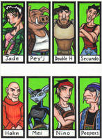 Beyond Good and Evil Bookmarks by Jagarnot