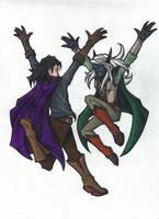 Jumping Idiots by Jagarnot