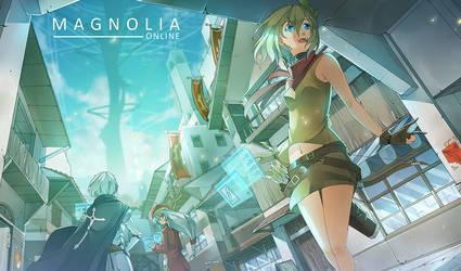 Fan Arts - Magnolia Online by sinlaire