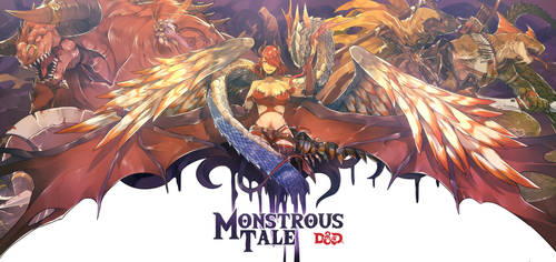Monstrous Tale by sinlaire