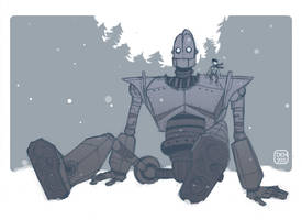 Day 28_Iron Giant by danee313