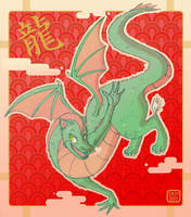 New Years Dragon-Dulcy by danee313