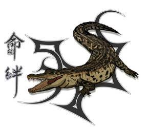 Croc Tatt by ic-art