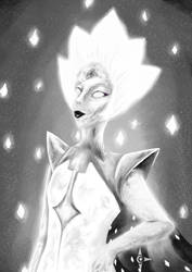 [ White Diamond ] by ArtyTheArtistDragon