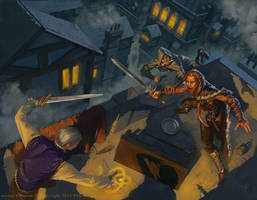 Lankhmar City of Thieves by Rilez75