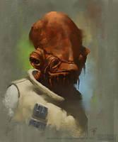 Admiral Ackbar by Rilez75
