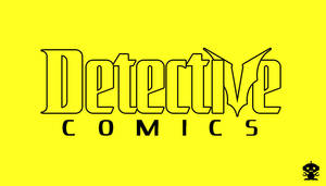 1987 Detective Comics Title Logo by TheDorkKnightReturns