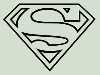 Superman Logo Classic by TheDorkKnightReturns