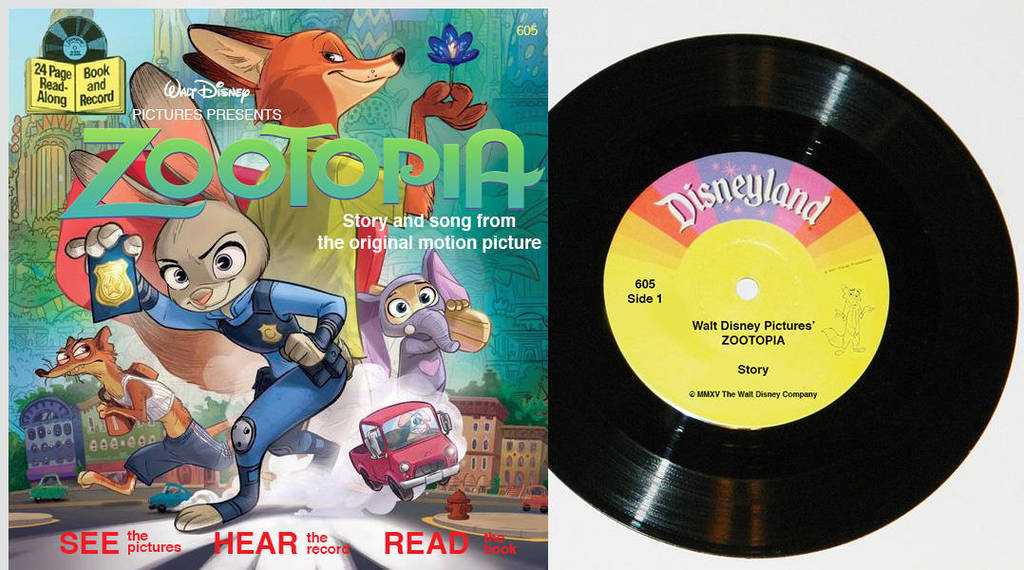 Retro Zootopia Book And Audio Read Along By Wilee2005 On