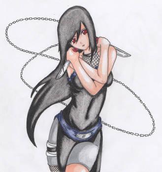 [Naruto OC] Daggers [Akua Uchiha] by BlackYinWhiteYang